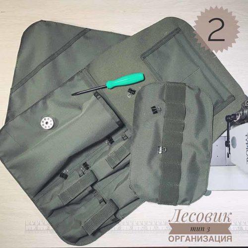Изготовление рюкзака Лесовик 3